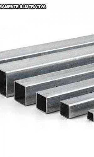 ferro tubular quadrado