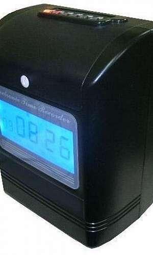 Relógio de ponto manual