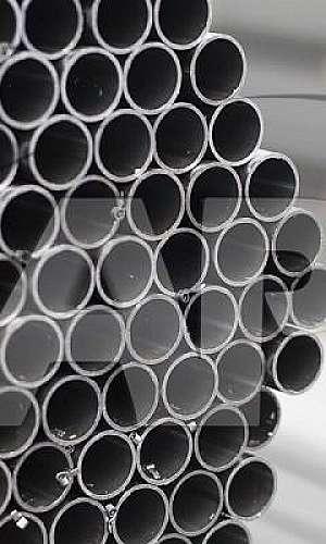 Tubo de ferro redondo